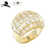 指輪・リング-新作揃え #12 K18YG×ダイヤモンド リング 397220【中古 ...