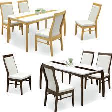ハイバックチェアと鏡面テーブルのテーブルセット 光沢のあるテーブル ...