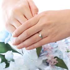 55%以上節約 婚約指輪 エンゲージリング リング ( 5月誕生石 ...