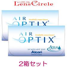 処方箋不要 処方箋なし Alcon AIR OPTIX AQUA 2週間交換タイプ 2週間 ...