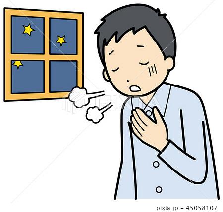 喘息の症状のイラスト素材 [45058107] - PIXTA