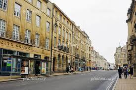 オックスフォードの街並み 写真素材 [ 4917880 ] - フォトライブラリー ...