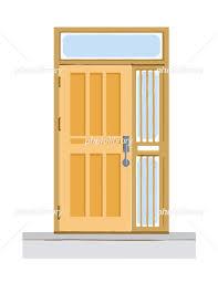 玄関ドア 戸建 イラスト素材 [ 6377432 ] - フォトライブラリー ...