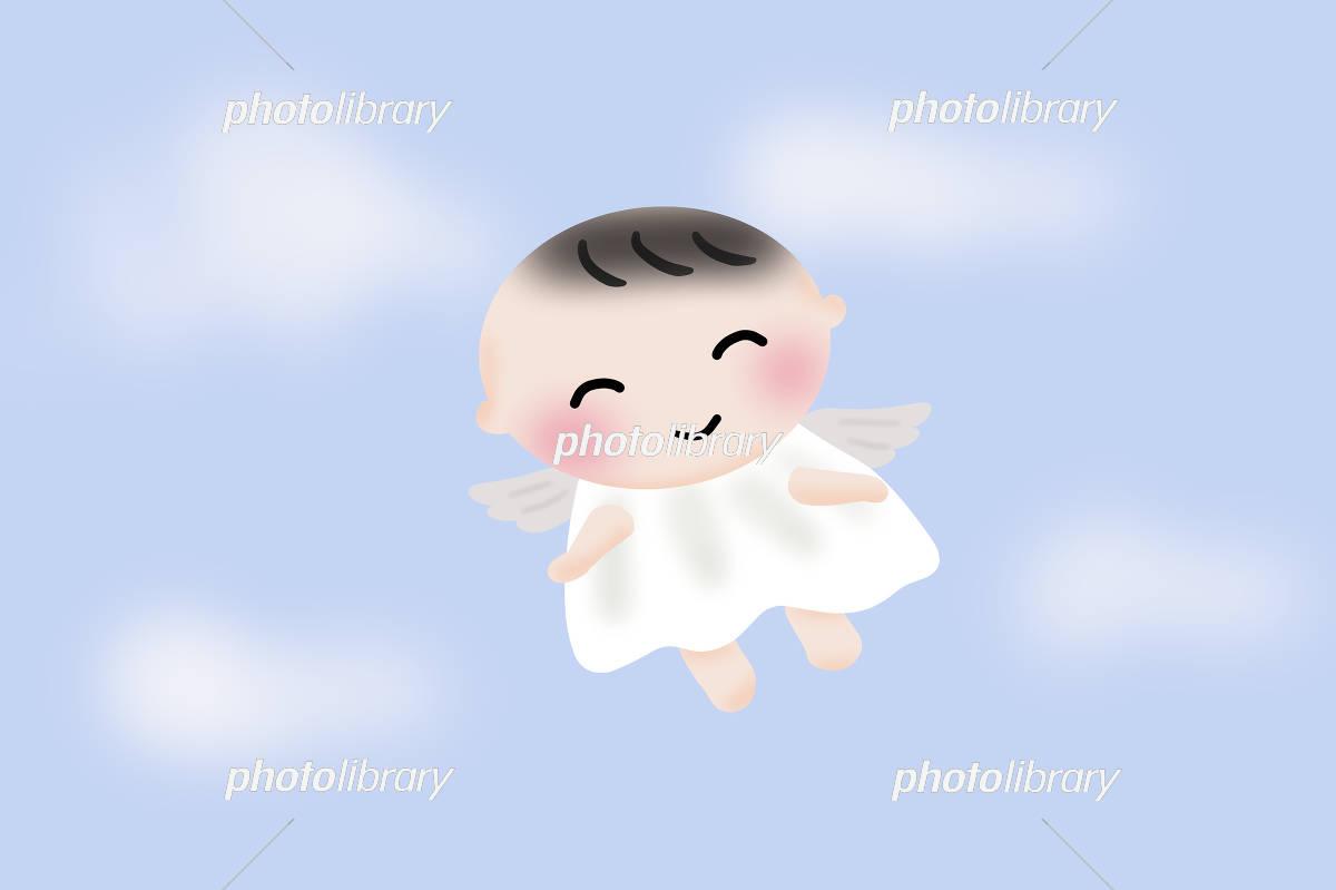 赤ちゃんまたくるね イラスト素材 [ 5286640 ] - フォトライブラリー ...