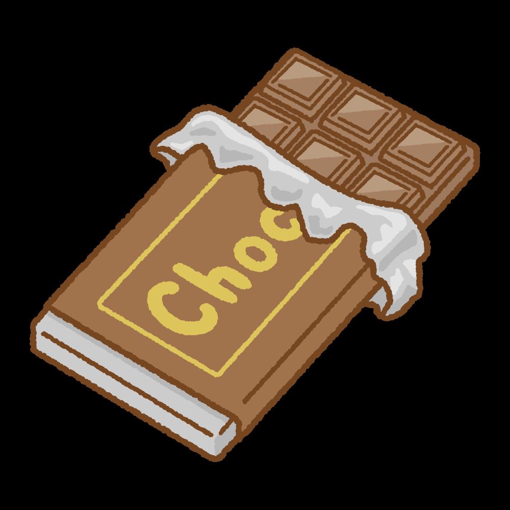 チョコレートのイラスト | 商用OKの無料イラスト素材サイト ツカッテ