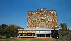 メキシコ国立自治大学の中央大学都市キャンパス|メキシコ 世界遺産 ...