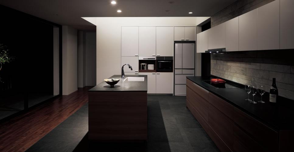 システムキッチンとは:最新の人気の種類や形を紹介します 注文住宅の ...