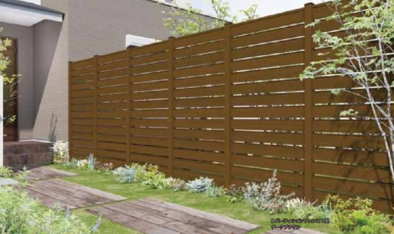 Bパーティションフェンス1型 - B-Lifes - エクステリア建材・ガーデン ...