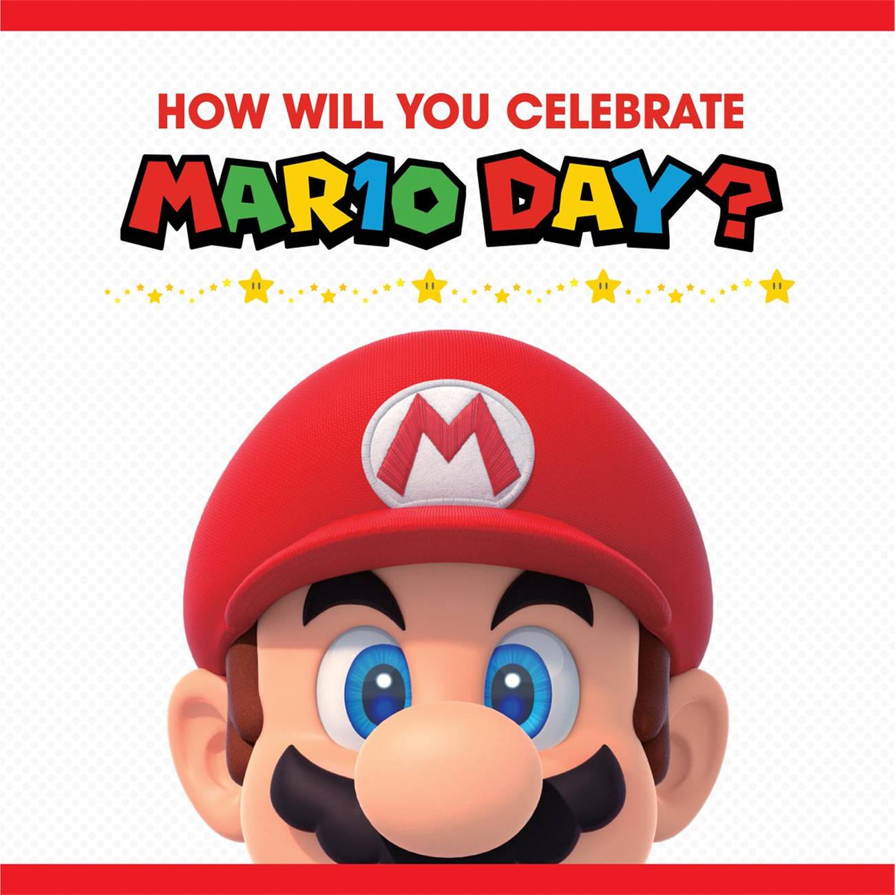 スーパーマリオ オデッセイ、マリオの日のイラスト公開。帽子投げポーズ