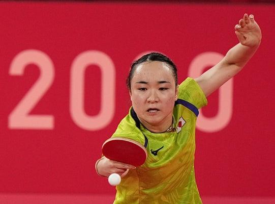 卓球女子団体、香港を3-0で下し決勝進出…3大会連続のメダルとなる ...