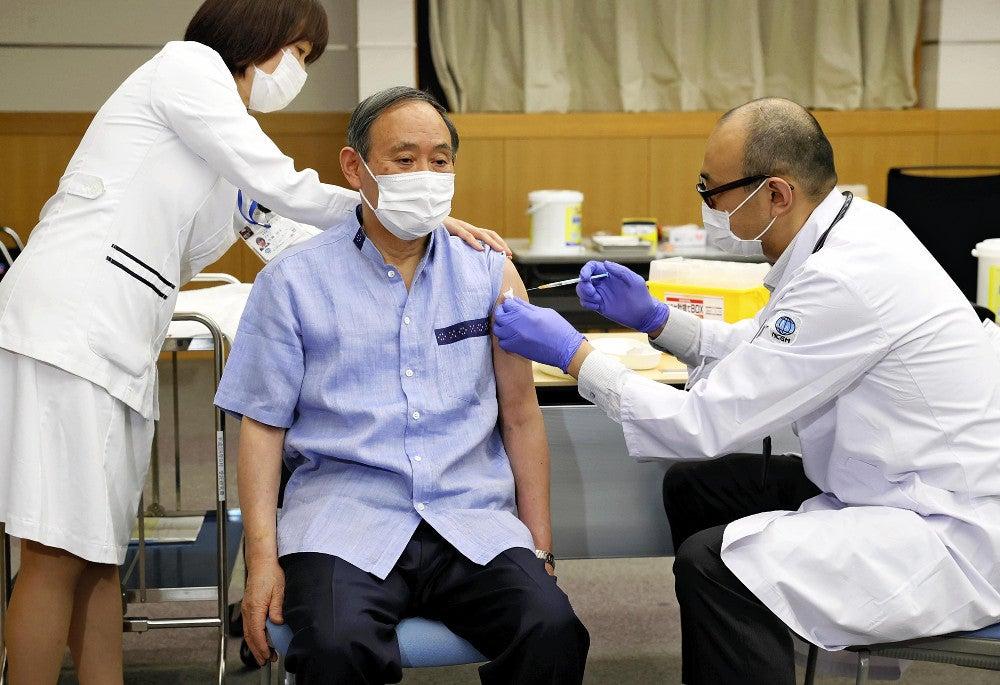 菅首相、訪米に備えワクチン接種「痛そうだったが…スムーズに終えた ...