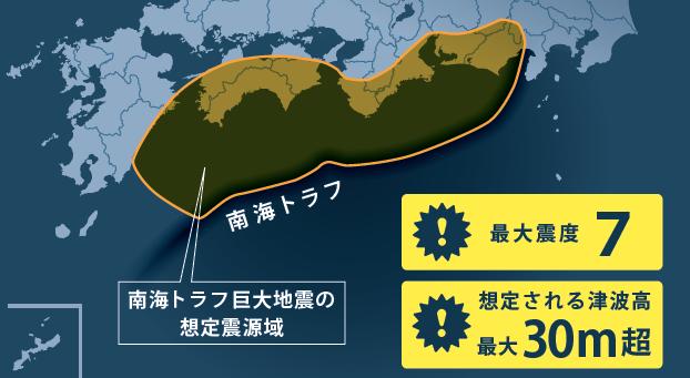 南海トラフ地震特設ページ