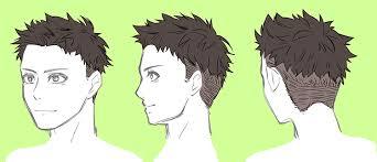 男性のリアルな髪型バリエーション・7選 | 男 髪型 イラスト, イラスト ...