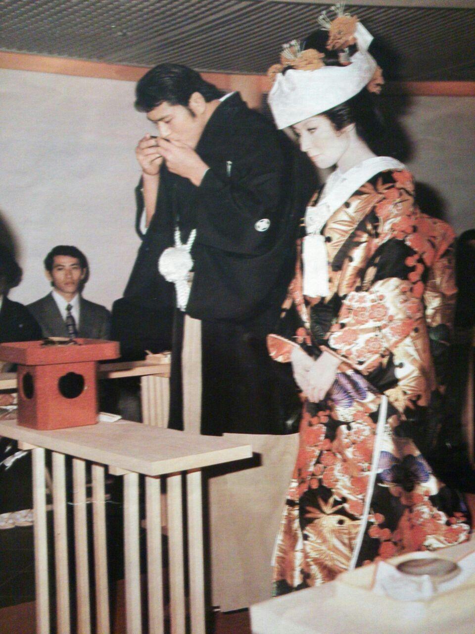 アントニオ猪木&倍賞美津子 結婚式   アントニオ猪木, レスリング ...