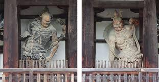 日本最古の金剛力士像 | 法隆寺, 仏教, 世界遺産