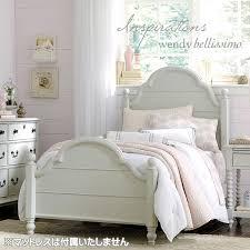 ベッドフレーム シングル 白 ホワイト 姫 姫系 プリンセス シングル ...