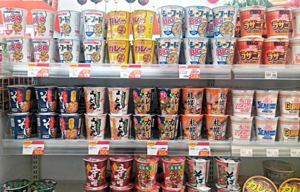 北海道のご当地PBセコマオリジナルカップ麺と日清カップヌードルを徹底 ...
