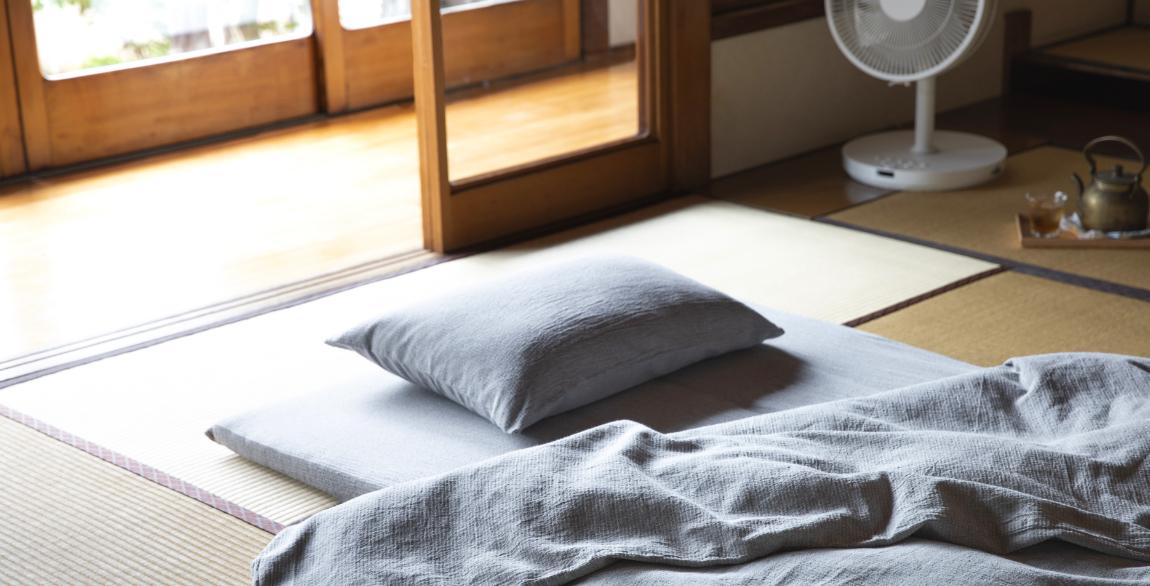 夏を涼しく、天然素材の寝具 | 無印良品