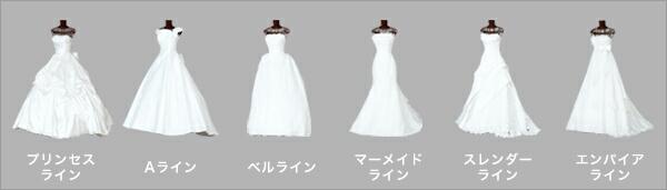 ドレス選びを始める前に!ドレスの種類を知っておこう♪: 美活部ログ