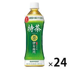 LOHACO - 【トクホ・特保】サントリー 伊右衛門 特茶 500ml 1箱(24本入)