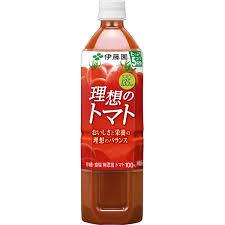 アスクル】伊藤園 トマトジュース 理想のトマト 900g 1箱(12本入 ...