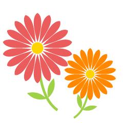 花の無料イラスト素材集|イラストイメージ