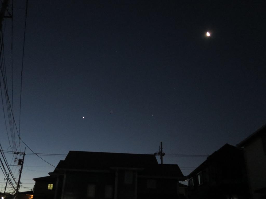 月と金星,木星の追いかけっこ - Seizan1959Ys's blog