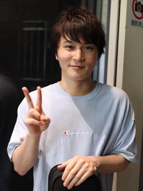 加藤純一|ChampionのTシャツ・カットソーを使ったコーディネート - WEAR