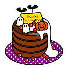 無料イラスト ハロウィンパンケーキ