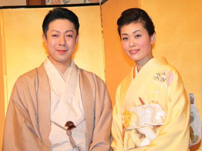 尾上菊之助、この人しかいない!波野瓔子さんと結婚会見 - シネマトゥデイ