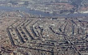 アムステルダム中心部: ジンフェルグラハト内部の17世紀の環状運河地区 ...
