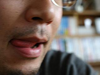 舌なめずりは通常の3倍ヤバイ :: デイリーポータルZ
