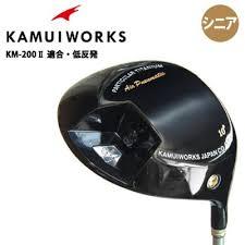 希少!大人気!】 カムイワークス KM-200 II ドライバー IPブラック 低 ...