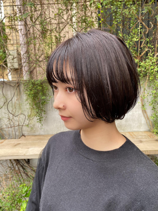 人気の【黒髪ショートボブ】前髪あり、なしの厳選15スタイル 青山 ...