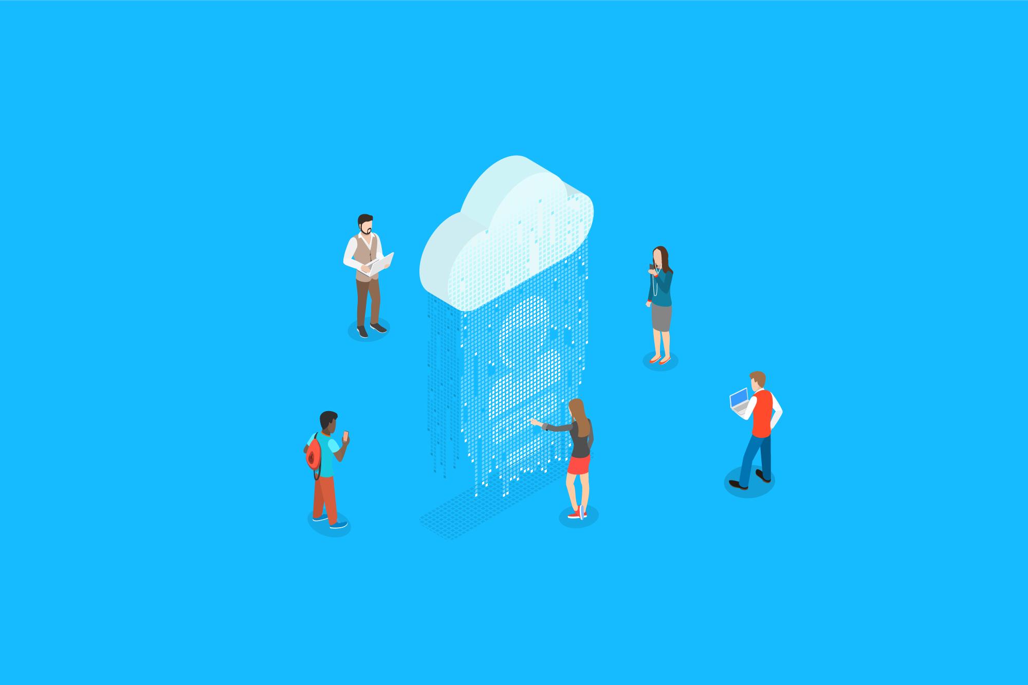 企業間情報共有プラン | クラウドラボ|クラウドサービスで業務改善を ...