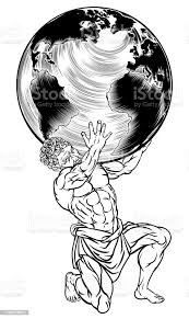 ギリシャ神話アトラスイラスト - アトラス像のベクターアート素材や ...