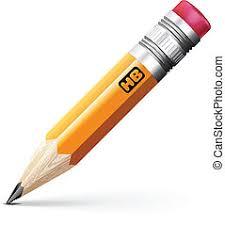 鉛筆, イラスト, 現実的, ベクトル, 背景, 白. | CanStockの画像