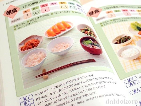 本の紹介 糖尿病食事療法のための食品交換表 第7版 | 館長の台所