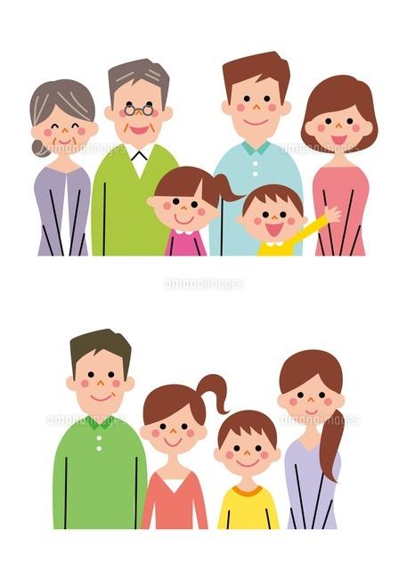 核家族・拡大家族(バストアップ)[10423000715]の写真素材・イラスト ...