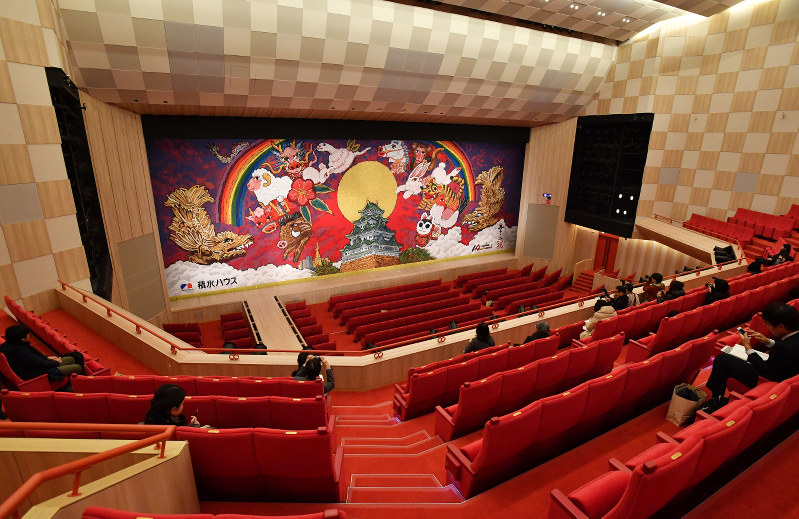 名古屋:劇場「御園座」内部を公開 4月に再開場   毎日新聞