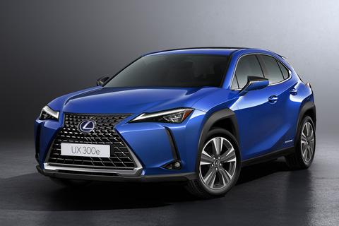 レクサス、市販EVの第1弾「UX300e」世界初公開。日本では2021年前半に ...