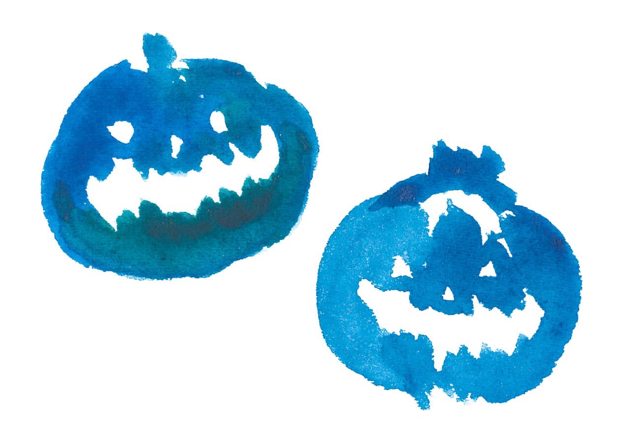 可愛いイラスト無料|水彩 ハロウィン かぼちゃ|【公式】イラスト素材 ...
