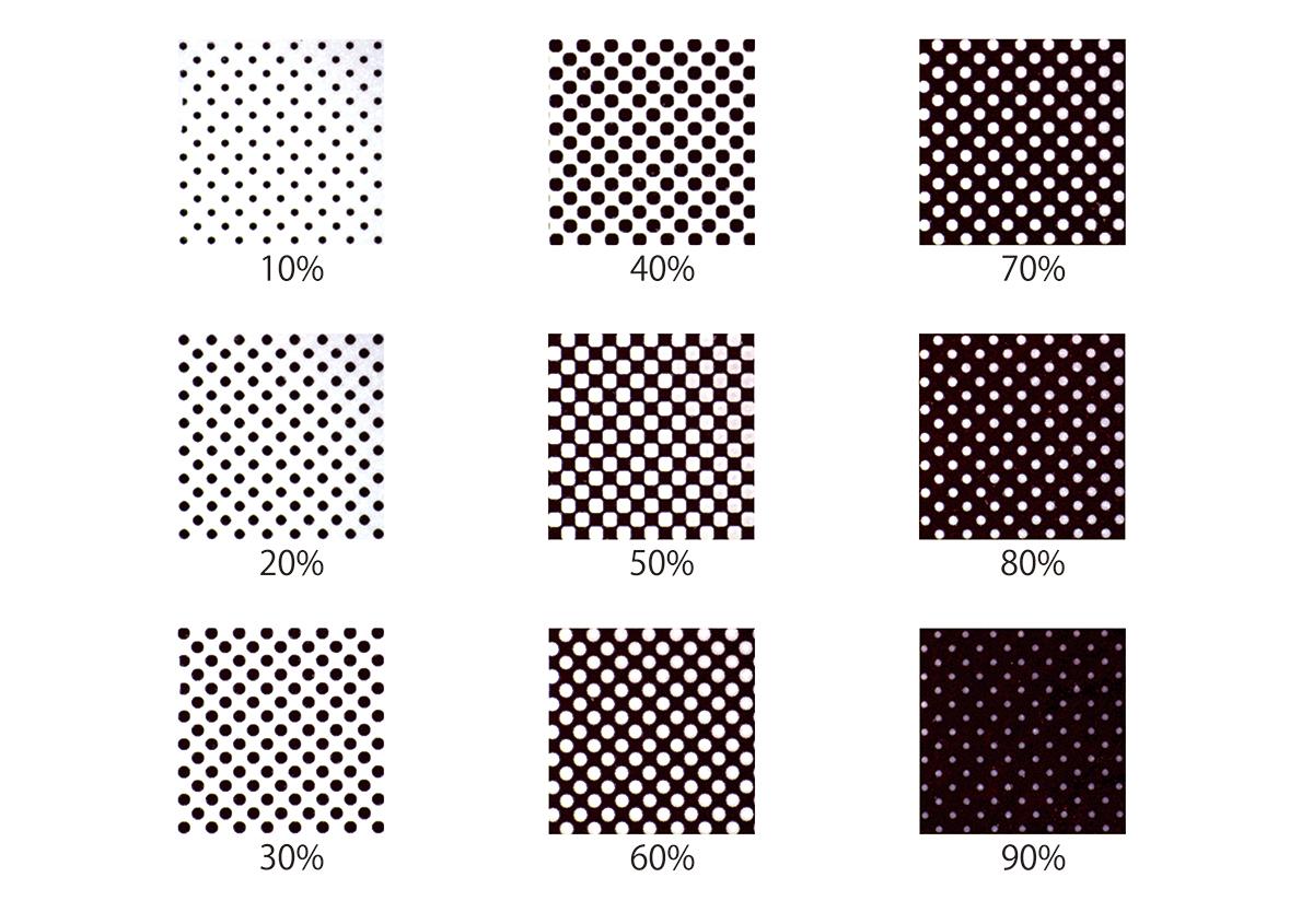 活(い)きた版 「 アミ点について 」 - (株)和光   活版印刷研究所