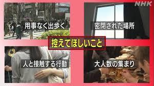 特に若者は控えて」東京都 不要不急の外出自粛を呼びかけ | NHKニュース