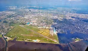 空撮:陸上自衛隊木更津駐屯地(千葉県木更津市)