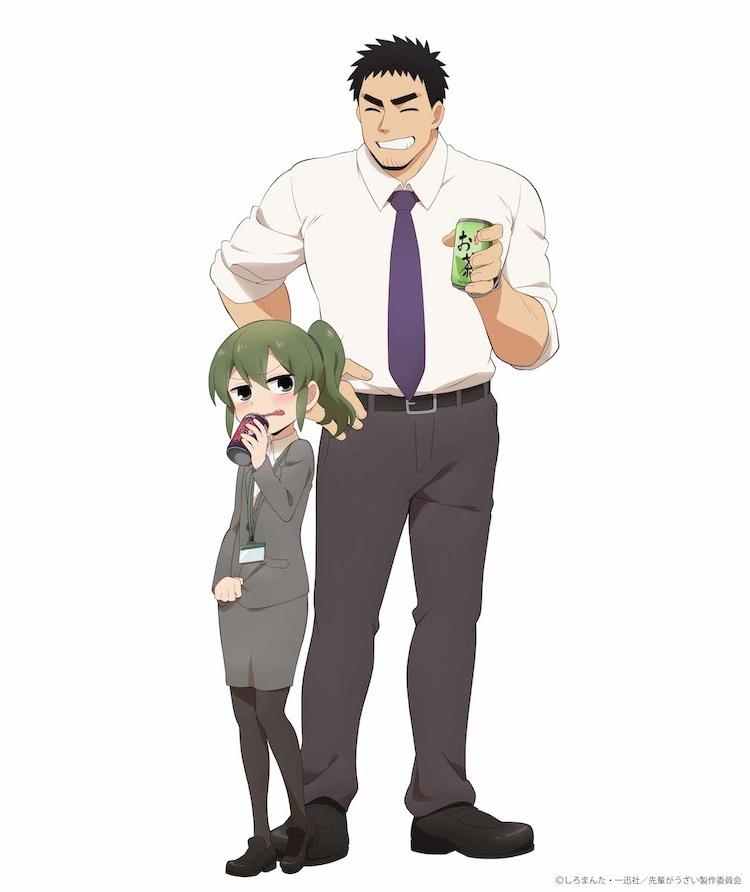 TVアニメ「先輩がうざい後輩の話」先輩の武田と後輩の五十嵐を描いた ...