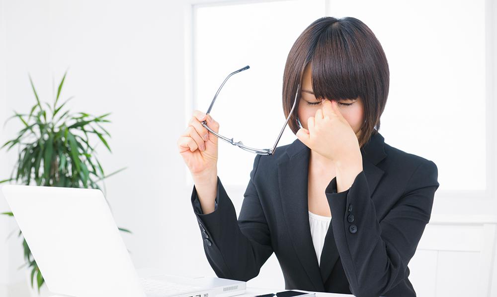 目が疲れる原因とは?眼精疲労による「かすみ」や「ぼやけ」の対策 ...