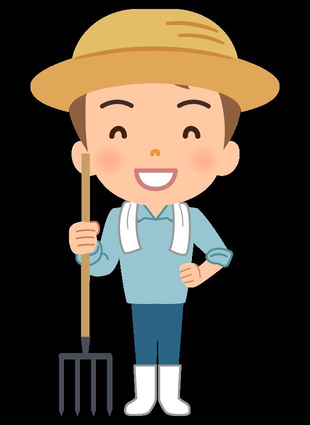農家(ファーマー)さんのイラスト | 無料のフリー素材 イラストエイト