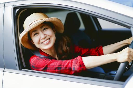 運転 女性の写真素材|写真素材なら「写真AC」無料(フリー ...
