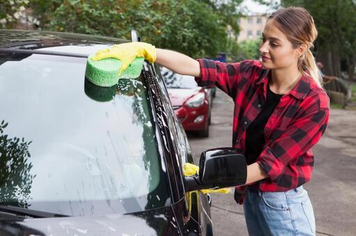 洗車中の写真素材 写真素材なら「写真AC」無料(フリー)ダウンロードOK